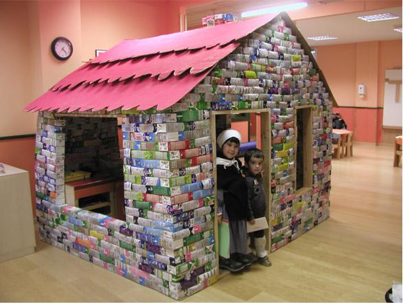 Casitas de carton para ni os imagui - Casas para ninos de carton ...