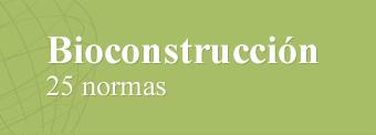 Las 25 normas de  la Bioconstrucción