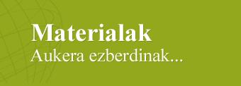 Materialak