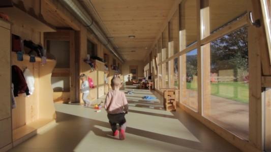 Escuela infantil en la cooperativa elorrioko txintxirri for Escuela arquitectura donostia